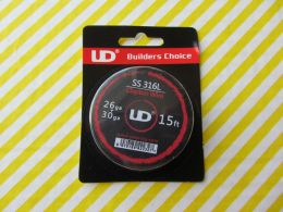 15ft Youde UD SS 316L Clapton Wire 26ga+30ga