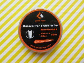 GeekVape Kanthal A1 Caterpillar Track 28GAx4+30GA