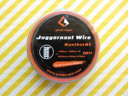 GeekVape Kanthal A1 Juggernaut (28GA+38GA)x2+Ribbon(38GAx24GA)